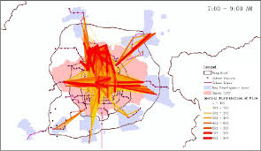 commute map sketch map of beijing subway transit commute between each station