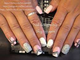 rhinestones nail designs nails pinterest rhinestone nail