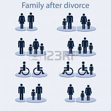 set of icons on a theme a family with a invalid person royalty