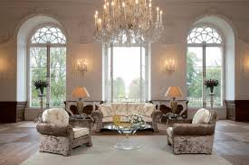 modern elegant and classy living room design with great crystal