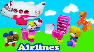 kitty airlines jet playset toy review pony