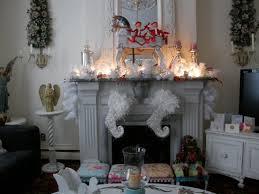 shabby chic white livingroom