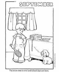 Autumn Or Fall Coloring Pages Sheets And Pictures Coloring Pages For September