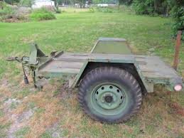 jeep trailer for sale jt 14 m762 flatbed jeep trailer