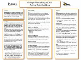 how to write a short paper in apa format purdue owl purdue owl cms author date classroom poster