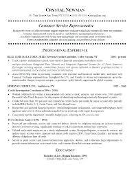 customer service representative resumes financial service representative resume sle customer the