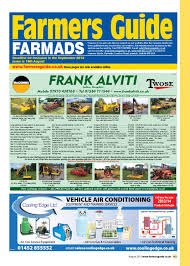 farmers guide classified section august 2013 by farmers guide