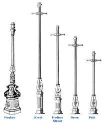 cast iron lighting columns tradtional street lighting columns new and restoration projects