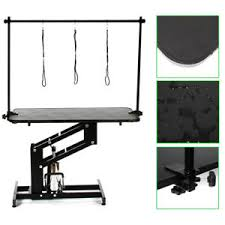 large dog grooming table large pet grooming table dog cat pet grooming trimming adjustable