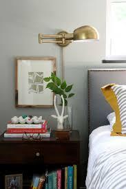 bedroom lighting design brass wall sconces