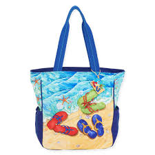 flip flop bag tide pool flip flops shoulder tote bag islandjay