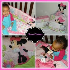 Minnie Mouse Infant Bedding Set Minnie Mouse Butterfly Charm Bedding Set Creates Giggles At