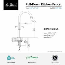 High Flow Kitchen Faucet by Kitchen Faucet Kraususa Com