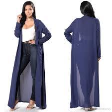 women sheer cover up dress long sleeves max dress beach