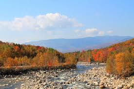 white mountains hampshire fall foliage