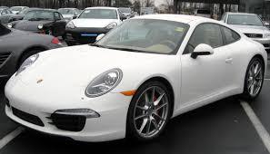 Porsche 911 White - list of fastback automobiles wikipedia
