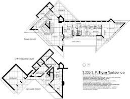 frank lloyd wright floor l elam plunkett house 309 21st street southwest austin minnesota