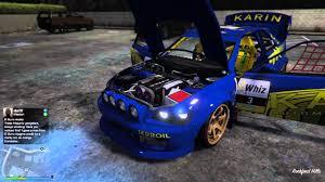 subaru custom cars gta 5 online full custom sultan rs subaru rally car walk around