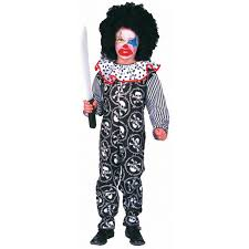 scary clown costumes kid s scary clown costume medium 8 10