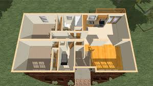 bl001 cape cod modular home model rendering birds eye view