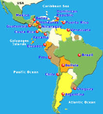 map of central and south america with country names rick perry asks the right question how are all these illegals