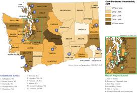 State Of Washington Map by Wshfc My View February 2015 Housing Needs Assessment