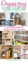 Ideas For Organizing Kitchen Pantry - 100 best home organization images on pinterest storage ideas