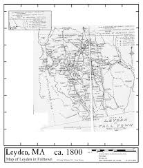 Massachusetts Map Of Towns by Maps Leyden Mcc Historic Town Maps