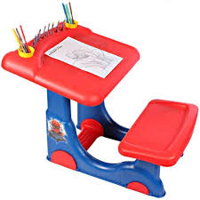 fireman sam sit u0026 play kids creative art colouring desk stool