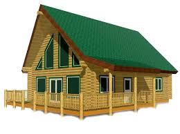 chalet cabin plans antler ridge chalet log home package