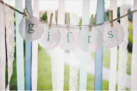 wedding gift table ideas wedding gift ideas the gift of approved