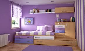 bedroom comely minist interior design purple walls wall