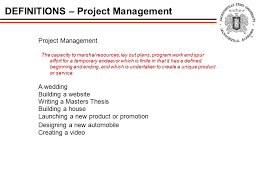 Create A Wedding Program Project Management Ime Ppt Download