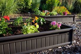 amazon com lifetime 60065 raised garden bed 4 by 4 feet 1 bed