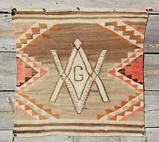 Navajo Rug Song 20s Churro Rare Navajo Saddle Blanket 27x34 Wool American Indian