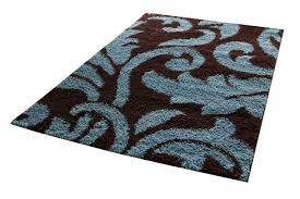 Blue Brown Area Rugs Brown Blue Area Rug Home Design Ideas