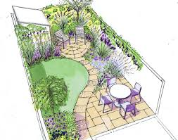 Small Gardens Ideas On A Budget Design For A Small Back Town Garden On A Low Budget Pinteres