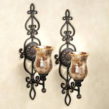 wall ideas decorative wall candle holders home decor wall candle