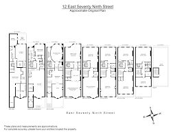 12 east 79th street house pinterest apartment floor plans