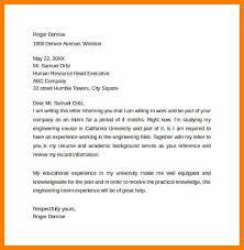 9 chemical engineering internship cover letter weekly template