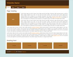 Copyright Html5 Free Html5 Css3 Template Brown One Column Fixed Template Org