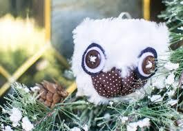 show saturday diy owl ornaments sewcanshe