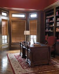 home office with levolor blinds decorate your windows with