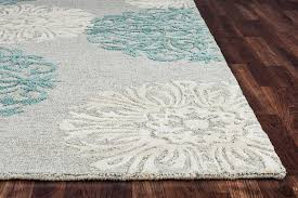 Area Rug Aqua Rizzy Home Di2241 Dimensions 8 By 10 Area