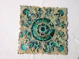 trivet ceramic trivet pot holder artisan wall tile ceramic tile