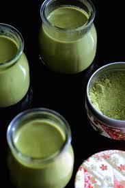 utilisation du lait de coco en cuisine panna cotta au lait de coco et thé matcha cuisine en scène le