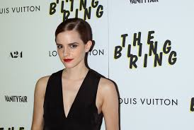 Vanity Fair Bling Ring Emma Watson Made A To Get Into Character For U0027the Bling