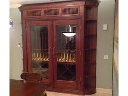 build your own refrigerated wine cabinet refrigerated wine cabinets and wine rack furniture