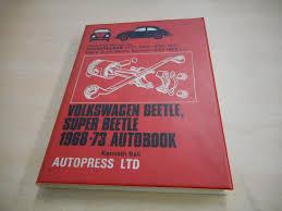 workshop manual volkswagen beetle abebooks