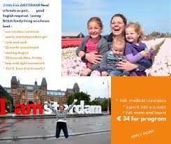 Au Pair In Holland Families Available For September  Au - Au pair family room